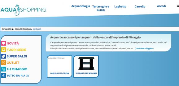 Accessori acquario acquariando pagina 2 for Acquario tartarughe vendita online