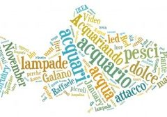 Word cloud con TAGxedo (e non con Wordle)