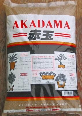 Akadama in acquario