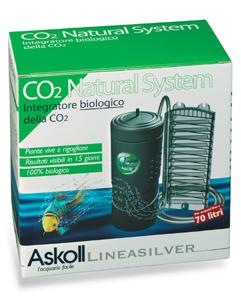 Askoll co2 natural system ricaricarlo senza comprare le for Comprare un acquario