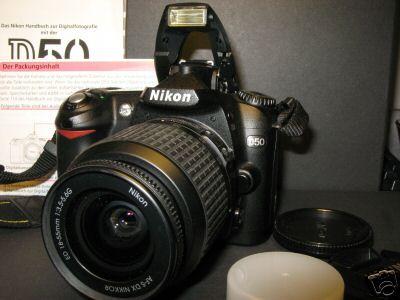 Nikon D50 in arrivoooooooooooo!