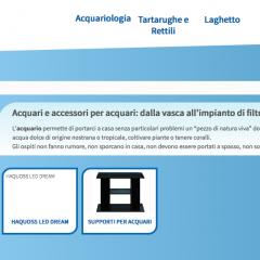 Vendita acquario online: innovativo configuratore per la guida all'acquisto