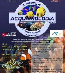 Acquariologia marina a FIUMICINO, il prossimo meeting del 3 e 4 dicembre