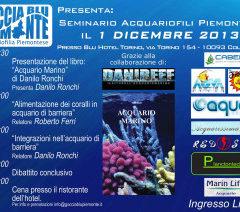 Seminario acquariofili piemontesi, il 1 dicembre a Collegno