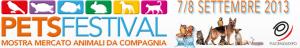 pets festival locandina della fiera degli animali di Piacenza